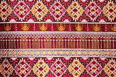picture of batik  - popular batik sarong pattern background in Thailand traditional batik sarong in Asian - JPG