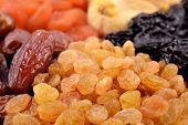 foto of prunes  - Various dried fruits  - JPG