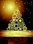 foto of welts  - Gold and black Merry Christmas background with stars - JPG