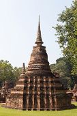 picture of buddhist  - Sukhothai historical park - JPG