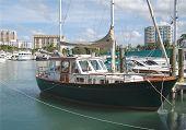 Sail Boat In Sarasota Bay