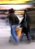 Shopping Blur