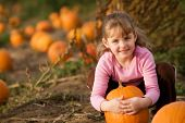 ziemlich in der Pumpkin patch