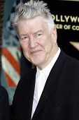 LOS ANGELES, CA - AUG 1: David Lynch at a ceremony where Sissy Spacek is honored with a star on the Hollywood Walk of Fame in Los Angeles, California on August 1, 2011