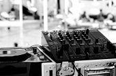 DJ Mixing Decks