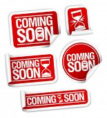 Coming soon stickers mega pack.