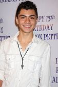 LOS ANGELES - JUL 31:  Adam Irigoyen arriving at the13th Birthday Party for Madison Pettis at Eden o