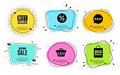 Autumn Sale. Best Seller, Quote Text. Special Offer Price Sign. Advertising Discounts Symbol. Quotat poster