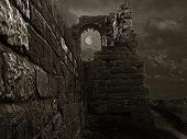 A Spooky Castle
