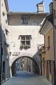 mittelalterliches Dorf Bard (Aosta, Italien)