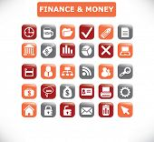 finance and money icon set 30 vol. 17 - vector, easy edit