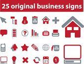 25 original business - red series