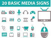 media icons. please, visit my portfolio to find more similar.