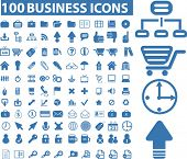 100 business icons. please, visit my portfolio to find more similar.