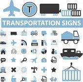 36 vervoer tekenen. vector