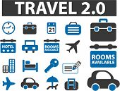 travel new signs. vector