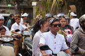 Traffic Jam In Bali