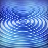 Blue water ripple background