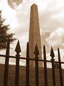 Bunker Hill Memorial Sepia