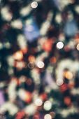 Blurry Vivid Multicolor Defocused Abstract Bokeh. Blurred Bright Background poster