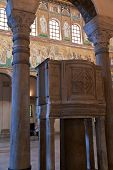 Ancient Pulpit In Cathedral, Ravenna