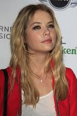 LOS ANGELES - FEB 10:  Ashley Benson arrives at the Warner Music Group post Grammy party at the Chateau Marmont  on February 10, 2013 in Los Angeles, CA..