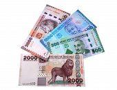 Banknotes Of Tanzania.