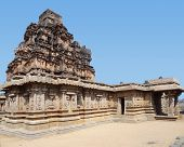 image of krishna  - Krishna Temple at the Sacred Center around Hampi a city located in Karnataka South West India - JPG