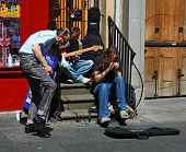 Musicians in Edinburgh