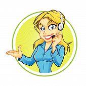 Receptionist Girl