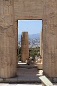 Arch Of Propylaea Of The Athenian Acropolis