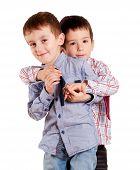 Brothers Hug