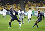 Uefa Champions League Game Between Fc Paris Saint-germain And Fc Dynamo Kyiv