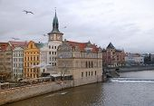 Stare Mesto (old Town), (Prague, Czech Republic) In Winter