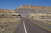 stock photo of scant  - a lonesome route 24 in california usa - JPG