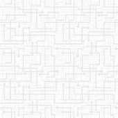 Vector Seamless Pattern - Electronic Circuit Scheme. Gray Texture.
