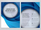 stock photo of insert  - vector business brochure - JPG