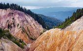 Ruginoasa Pit From Apuseni Mountains
