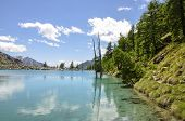 Italy (ayas Valley) Lago Blu