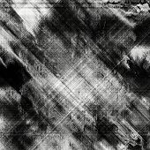 art abstract grunge  background with lines in black, grey and white colors