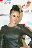 HOLLYWOOD -  Vassy Karagiorgos arrives at the 2013 Philhellenes Gala benefiting Praksis at the SkyBa