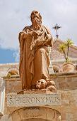 Saint Jerom, Bethlehem, Palestine, Israel