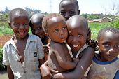 Children Smile In Kampala Slums