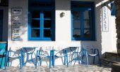 Greek Island Cafe Coffe Shop Cyclades Architecture