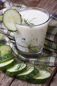 Greek Yogurt With Cucumber And Dill