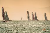 America's Cup World Series 2013 Catamarans