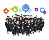 Social Network of Graduating Students