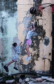 picture of mural  - PENANG MALAYSIA - JPG