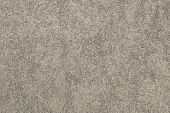 Gray-beige Terry Cotton Fabric Closeup