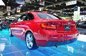 Nonthaburi - March 25:new Bm 220I Coupe M Sport On Display At The 35Th Bangkok International Motor S